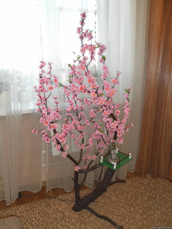 Дерево сакур своими руками
